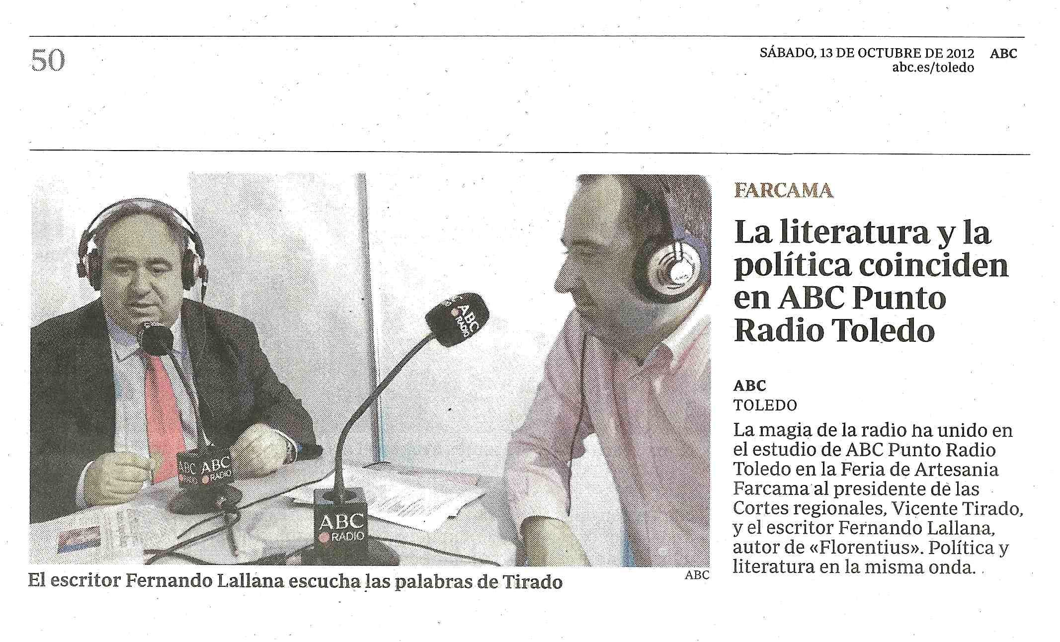 ABC : Tertulia en ABC PUNTO RADIO.