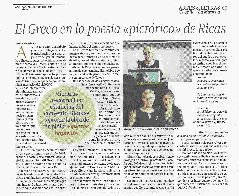 ABC : El Cretense en el Museo del Greco.