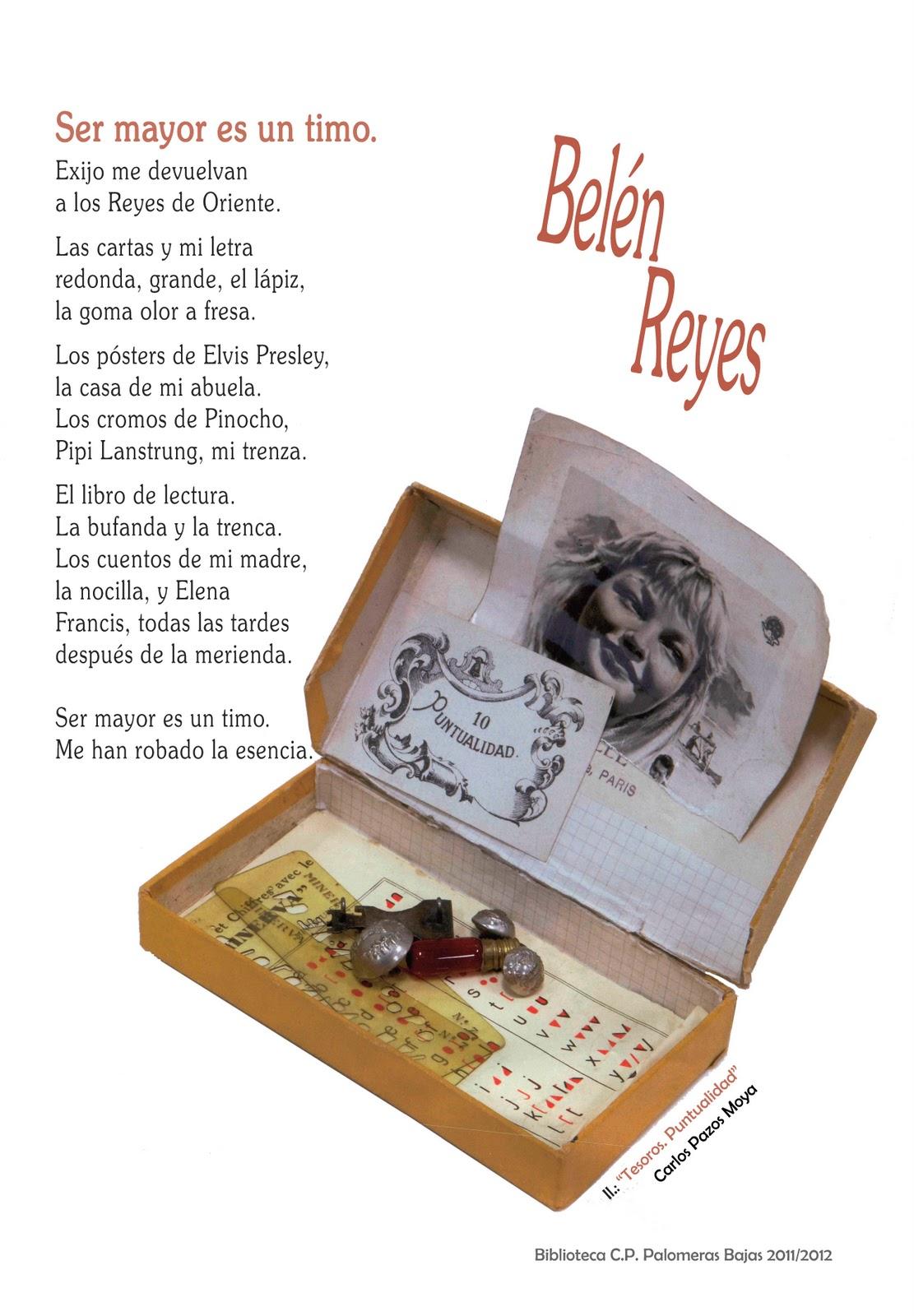 LA BIBLIOTECA DE PALOMERAS : Belén Reyes y la poesía.