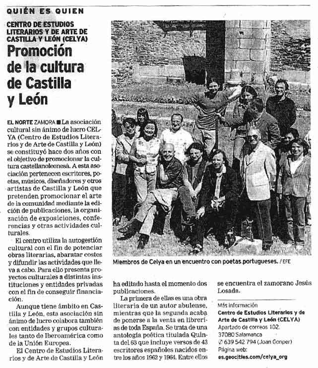 EL NORTE DE CASTILLA: Promoción de la Cultura.